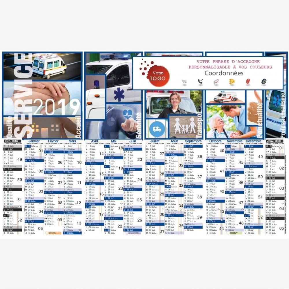 calendrier-ambulance-service