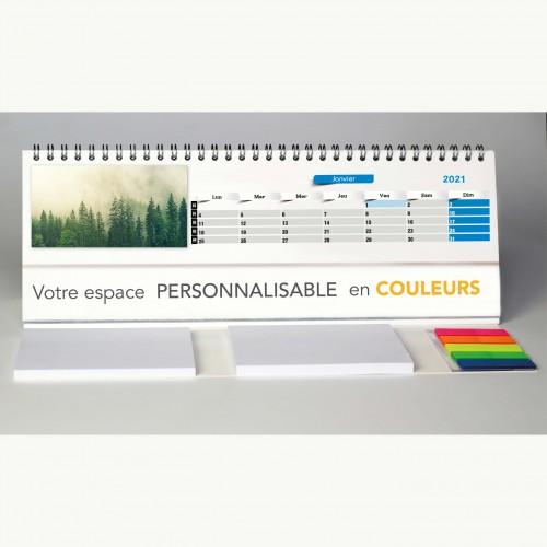 Calendrier chevalet de bureau ACTION REBOISEMENT - 29,7 x 10,5 cm
