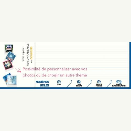 Sous-main publicitaire SOUS-MAIN AMBULANCE - Clavier