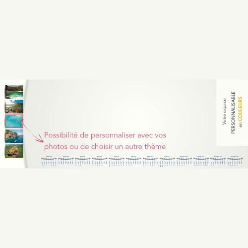 Sous-main publicitaire SOUS-MAIN AUTOUR DU MONDE - Clavier