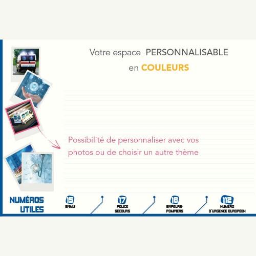 Sous-main publicitaire SOUS-MAIN AMBULANCE - M/L