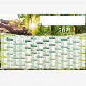 Calendrier personnalisé en ligne ACTION REBOISEMENT - 66 x 43 cm