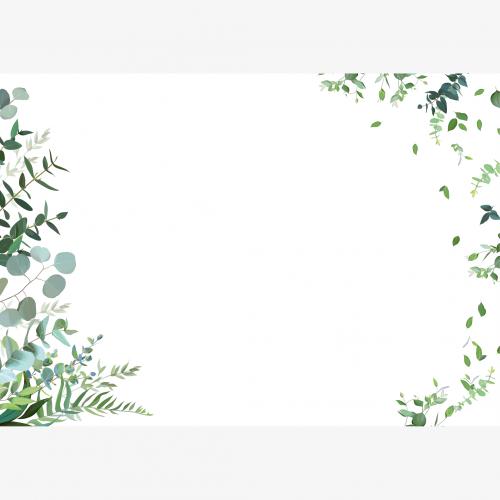 Calendrier personnalisé en ligne Sous-main publicitaire NATURE - 48,5 x 33,5 cm