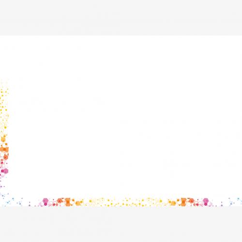 Calendrier personnalisé en ligne Sous-main publicitaire EPURE COLORE - 48,5 x 33,5 cm
