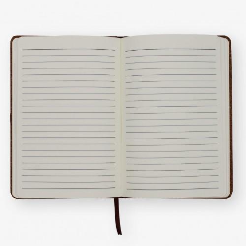 CARNET DE NOTES EN LIEGE - A5
