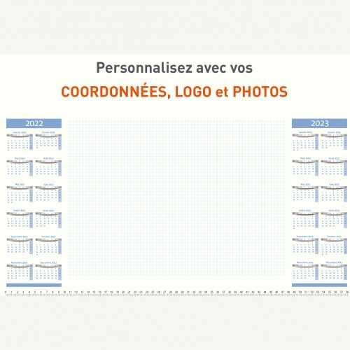 Sous-main publicitaire SOUS-MAIN CALENDRIER - A2 / A3+