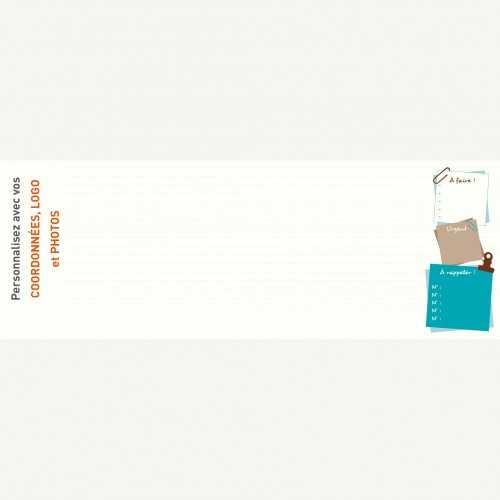 Sous-main publicitaire SOUS-MAIN BUREAU - Clavier