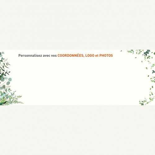 Sous-main publicitaire SOUS-MAIN NATURE - Clavier