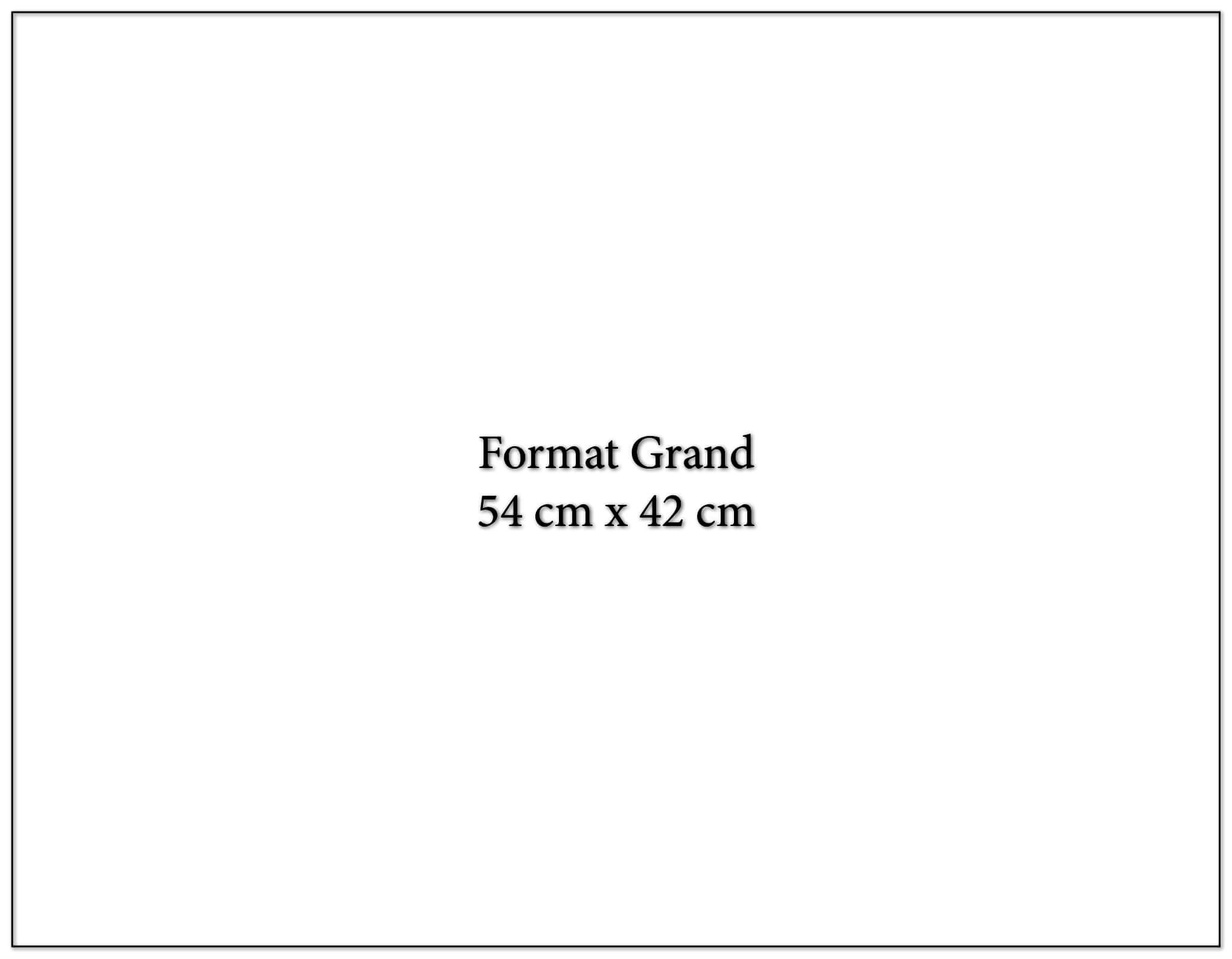 Calendrier publicitaire grand fomat 54x42cm