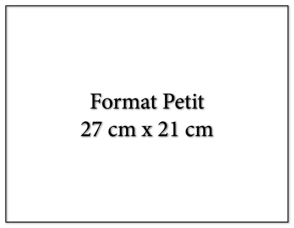Calendrier publicitaire petit fomat 27x21cm