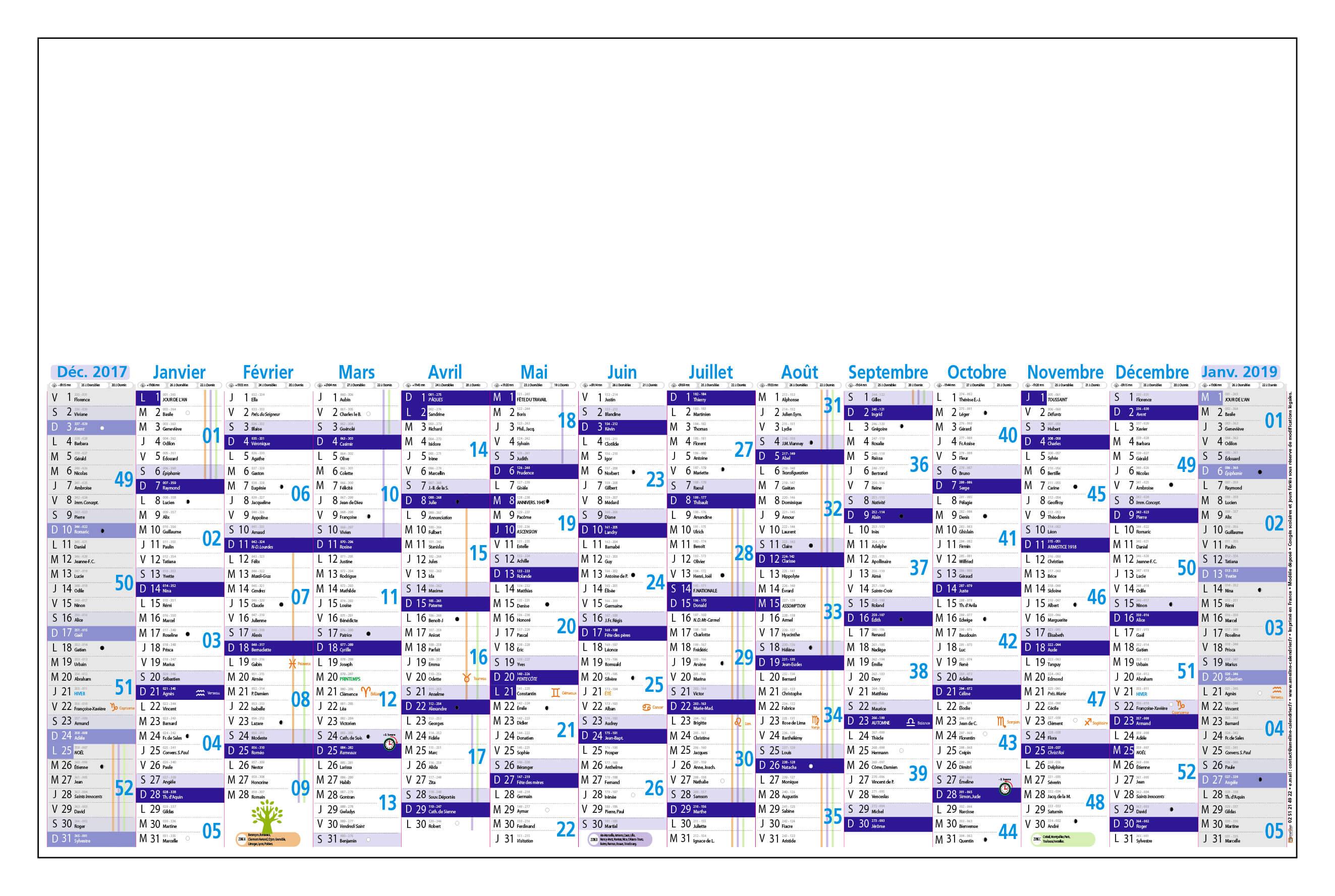Grille-calendrier-2018-mois-alignés-TG-14-mois