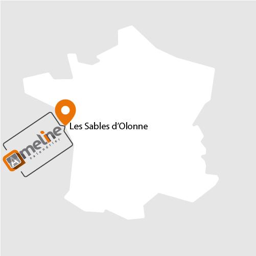 Situation géographique - Les Sables d'Olonne