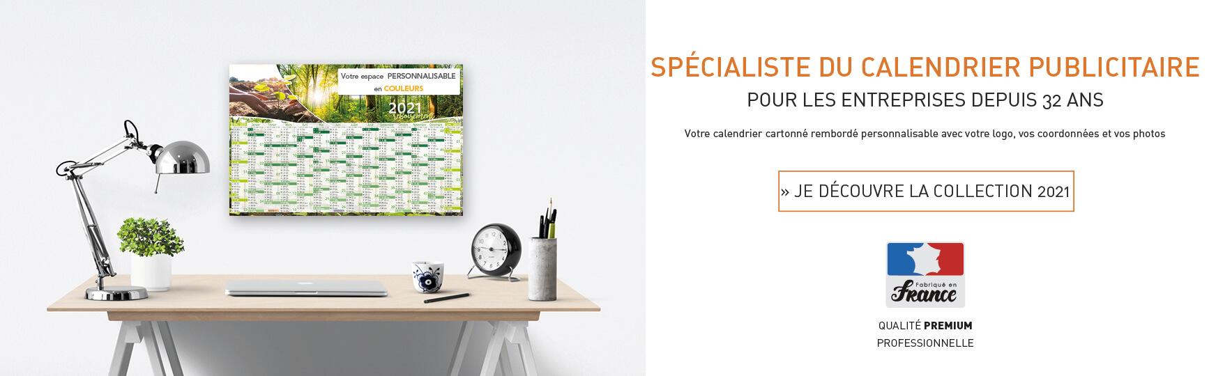 Fabricant direct de calendriers publicitaires pour les entreprises