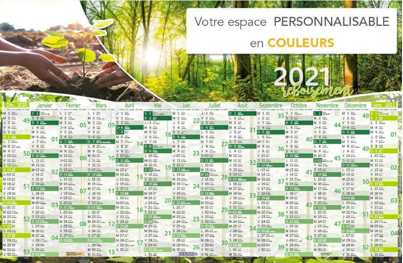 Calendrier Publicitaire 2021 Impression calendrier publicitaire et calendrier chevalet   Objet