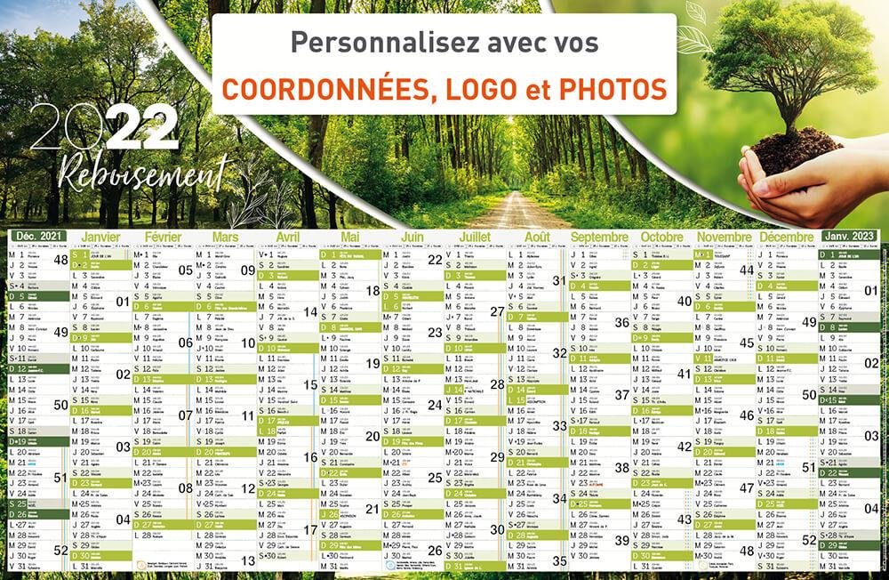 Calendrier Publicitaire 2022 Impression calendrier publicitaire et calendrier chevalet   Objet