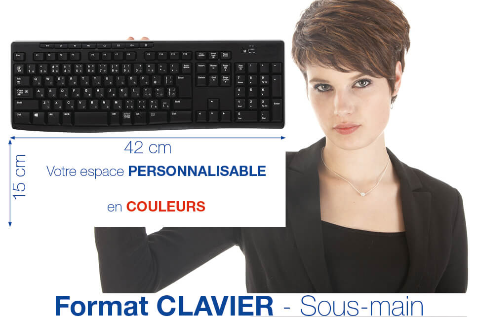 NOUVEAU aux dimensions d'un clavier