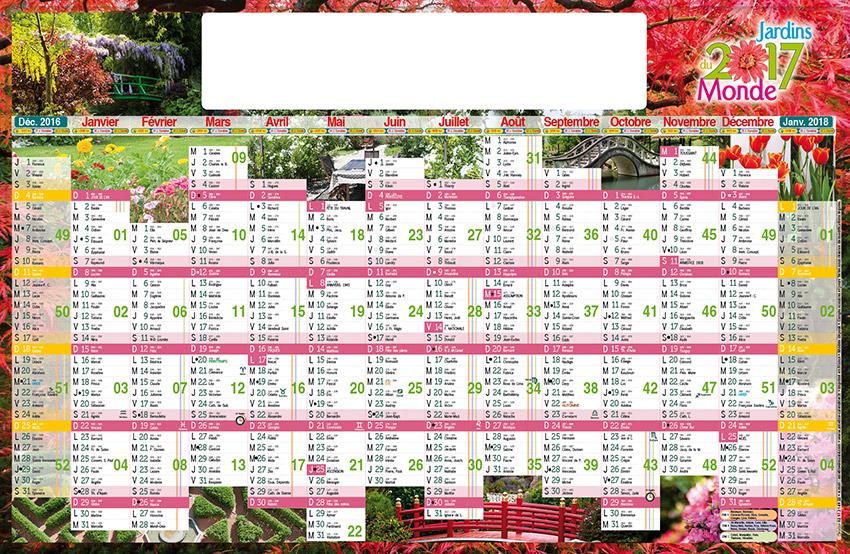 Calendrier jardins du monde tg75 paysagiste p pin riste for Calendrier du jardin