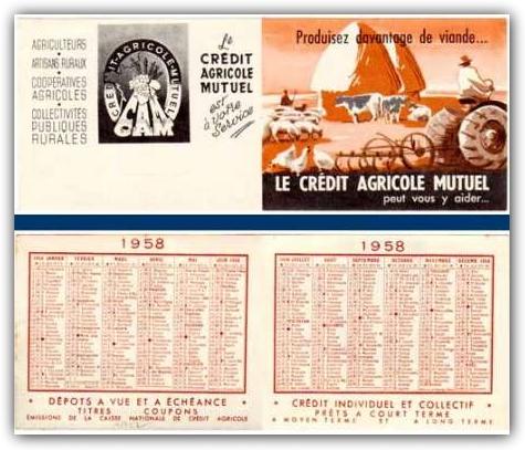calendrier banque